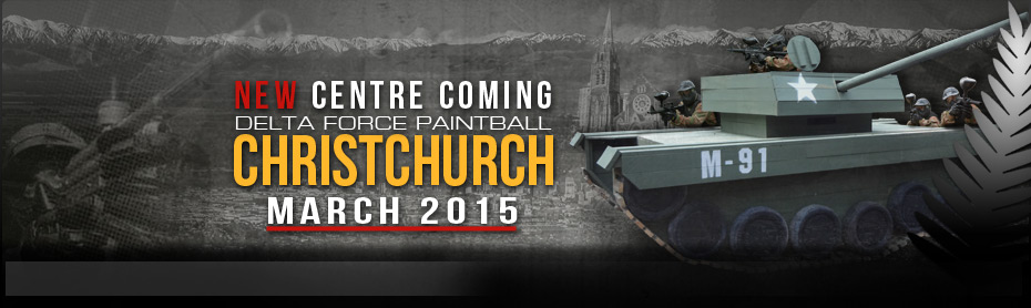 DELTA FORCE CHRISTCHURCH IS COMING...