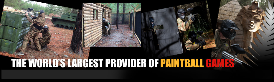The world's largest provider of paintball games