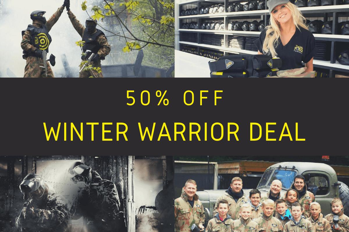 50% Off Winter Warrior Deal