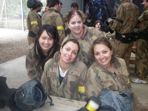 Hens Party Delta Force Paintball Woodhill