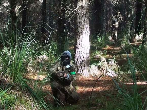 Jungle Attack field at Delta Force Paintball Woodhill Auckland